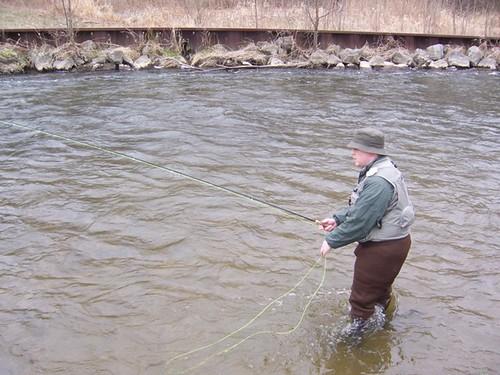 Fishing yates...