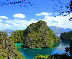 Kayangan Lake in Coron, Busuanga Island, Palawan taken by one of the travellers to the place