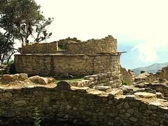 construcciones en Kuelap