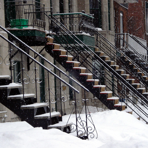 Snowy Stairs