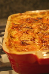Sweet Potato and Sage Gratin