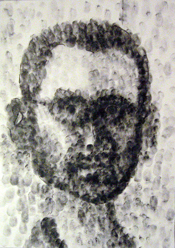 Fingerprinting Portrait 02 by Juggle5