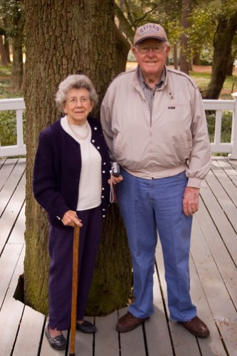 parents at Hopeland Gardens