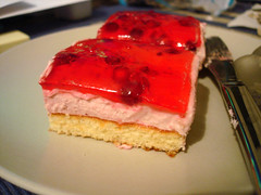 Lingonberry Mousse Cake