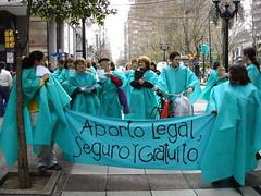 Caminata verde por Aborto legal, seguro y grat...