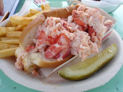 Lobster Roll from Bob's Clam Hut, Kittery ME