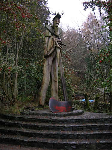 Grizedale Forest Axeman
