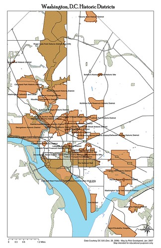 Dc Districts Map on