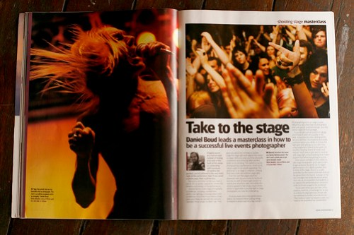 Stage photography article
