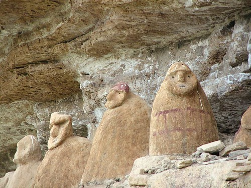 Sarcofagos de Aya-Chaqui, mas en detalle