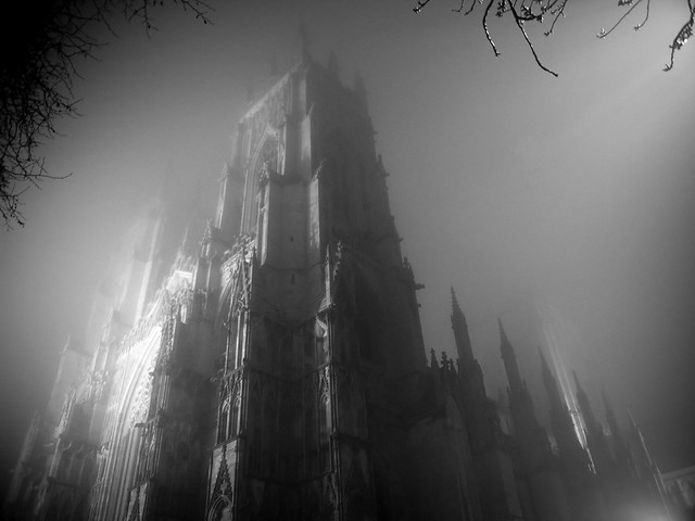 """York Minster in the Fog"" by Karli Watson (Flickr)"