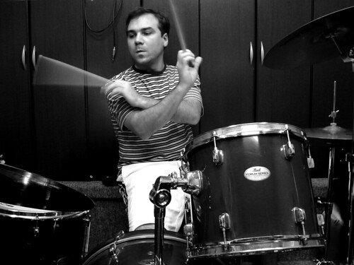 JC, o baterista!
