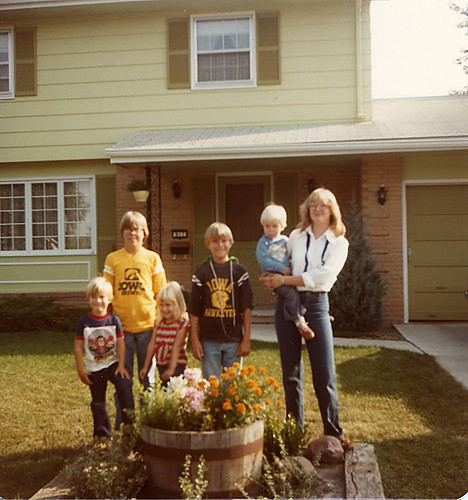 Me with my brothers and sister in 1981