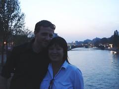 Paul and Ann on the Seine