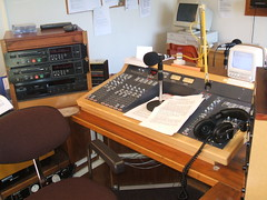 Image of radio studio