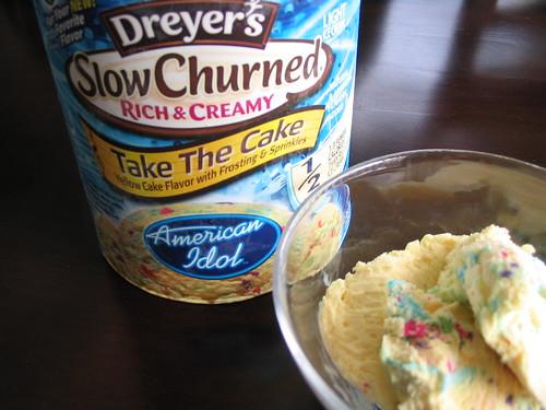 American Idol ice cream