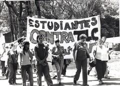 estudiantes contra el TLC