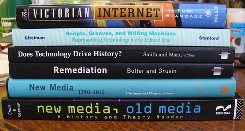 Old New Media Readings by Krista76, on Flickr