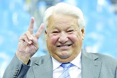 Russia's Boris Yeltsin
