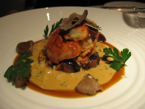 companion's lobster at Gordon Ramsay