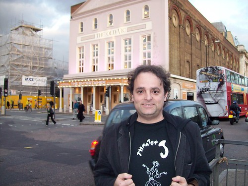 Theater J in front of The Old Vic