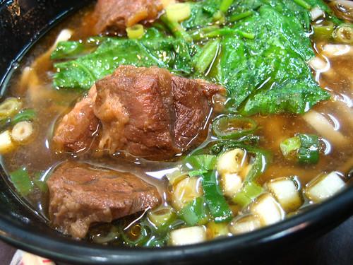 beef noodles/紅燒牛肉麵