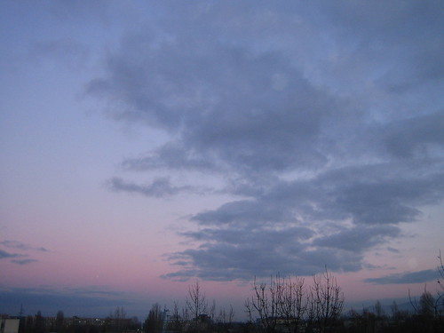 The sky over Mladost