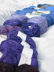 close up of stash 2 blue and purple