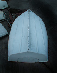 Dinghy on the prom