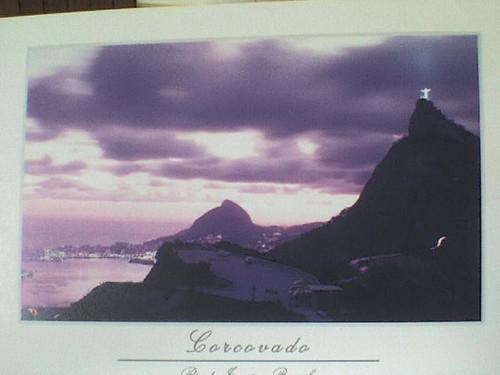 razglednica od rio de rio de janeiro-brazil