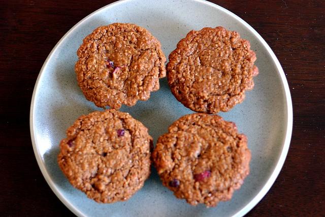 bran-cran muffins