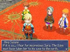 Nintendo DS - Final Fantasy III - Ghost of King Sasune