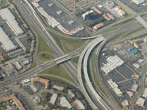 Intersection of Hwys 880 & 237, Milpitas, California