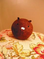 Ball dolls - Beaver