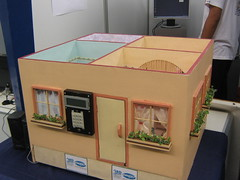 SMS controlled house