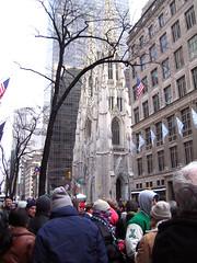 Catedral de San Patricio el d�a del desfile en Nueva York