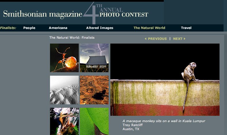 Smithsonian Contest Top Ten Winner - Natural World