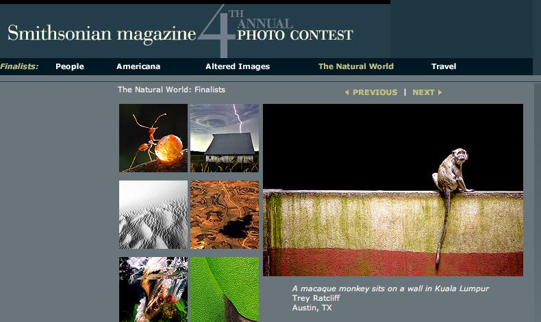 Smithsonian Contest Top Ten Winner - Natural World