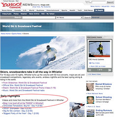 My Blog Post Featured Today In Yahoo! Canada News on