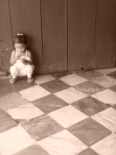 The Child by the Church Door