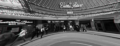 Cadillac Palace Theatre - fisheye