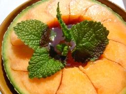 Mezza Melone con Marsala