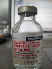 Lidocaine/Epinephrine Injection