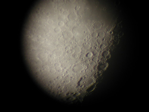 Magnified Moon