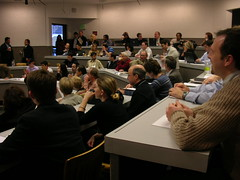 User generated media panel discussion audience