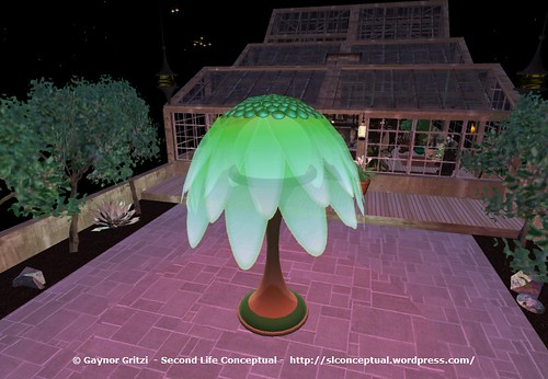 FlowerTree Light Lawn Ornament 015