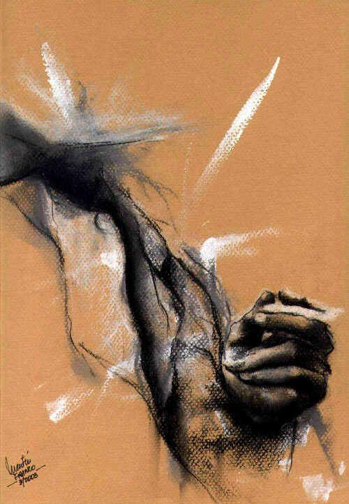 hand & cigarette