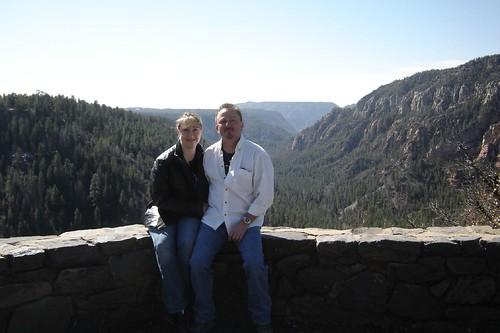 Me and Calvin, Oak Creek Viewpoint