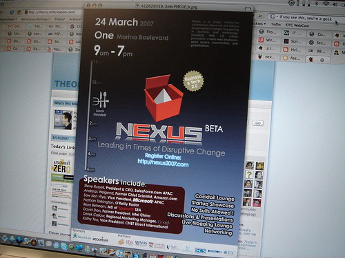 Nexus 2007 Conference Flyer