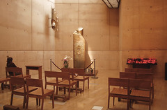 The Blessed Sacrament Chapel at the Cathedral by Zeetz Jones
